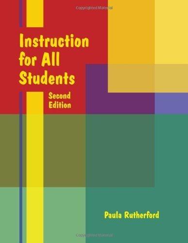 Instruction pour tous les étudiants