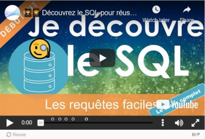 SQL Découverte