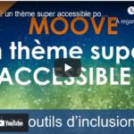 Accessibilité: Thème moove pour moodle